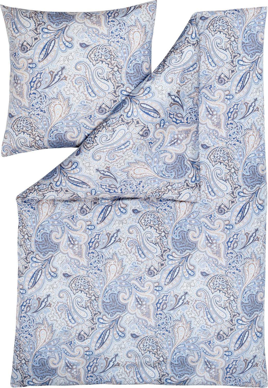 Estella Bettwäsche Yaren Interlock-Jersey Taube Größe 135x200 cm (80x80 cm)