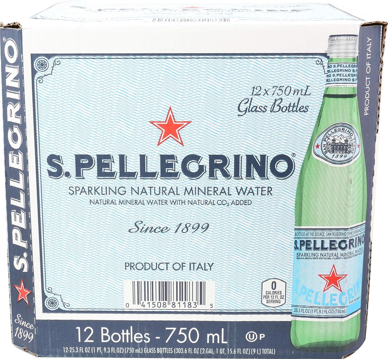 San Pellegrino Mineral Water,303.6 Fl Oz, 25.3 Fl Oz (Pack of 12)