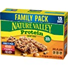 Nature Valley Peanut Butter Dark Chocolate, Salted Caramel Nut, Almond & Protein Chewy Bars