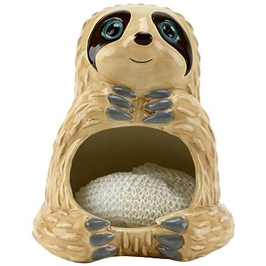 Boston Warehouse 45706 Slow Sloth Scrubby Holder