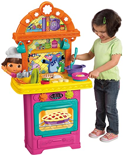 Amazon Com Fisher Price Dora The Explorer Sizzling Surprises