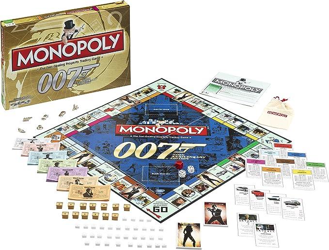 Monopoly 50th Anniversary Edition James Bond Games: Winning Moves: Amazon.es: Juguetes y juegos
