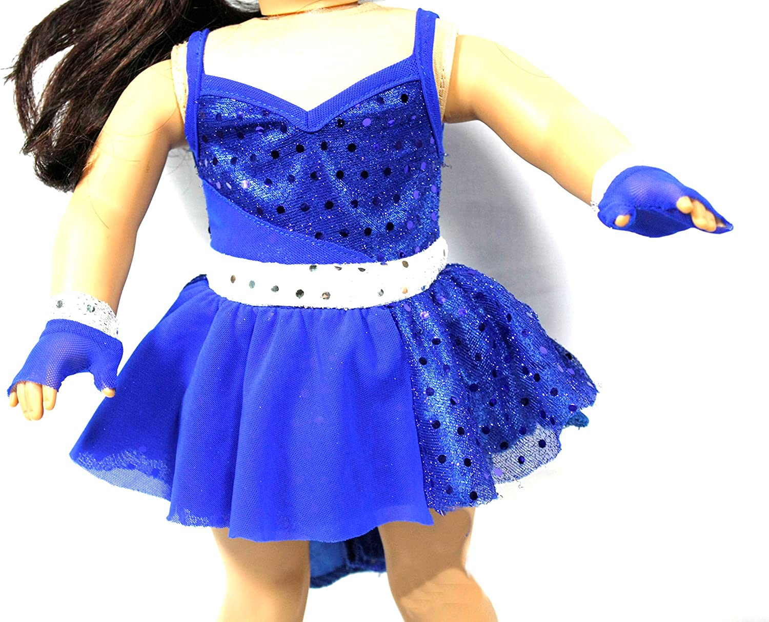 Arianna 3pcs Take  Five Jazz Dance Outfit Fits 18 Inch American Girl Doll
