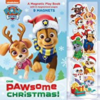 One Pawsome Christmas: A Magnetic Play Book (PAW Patrol)