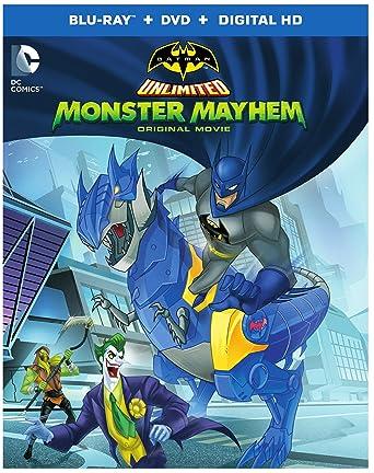 Batman Unlimited: Monster Mayhem (Blu-ray + DVD + Digital HD UltraViolet Combo Pack)