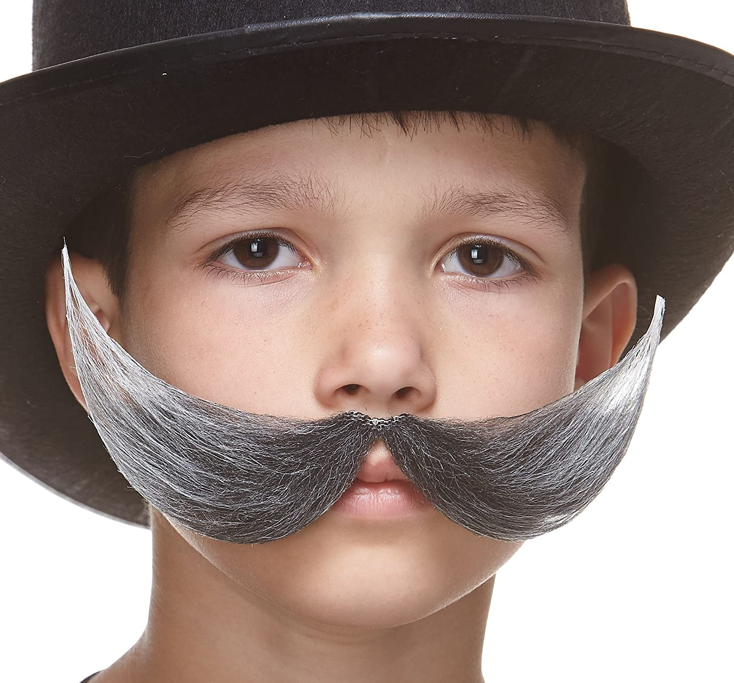 Self Adhesive Mustaches Fake Mustache Novelty Small Fishermans False Facial Hair Costume Accessory for Kids