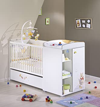 Sauthon On Line Winnie Discovery Lit Chambre Transformable 120 X 60 Cm