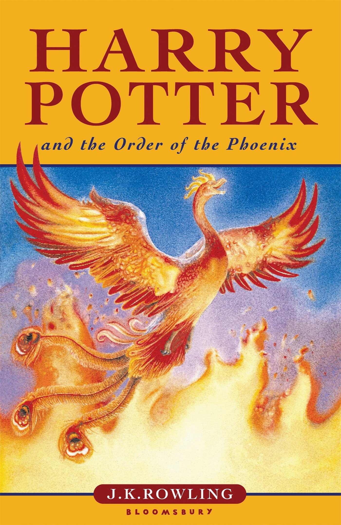 Image result for harry potter and the order of the phoenix book