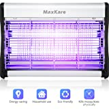 MaxKare Bug Zapper Indoor Mosquito Insect Fly and Other Pests Electronic Killer with UV Light Trap, 538sq.ft Coverage for Residential and Commercial Use (20W)