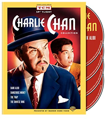 fa76481bb1e Amazon.com  TCM Spotlight  Charlie Chan Collection (Dark Alibi   Dangerous  Money   The Trap   The Chinese Ring)  Sidney Toler