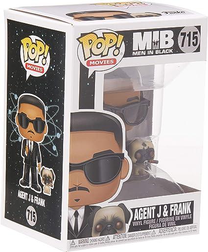 Figura Funko Pop Movies 715 Men In Black Agent J /& Frank Hombres de negro