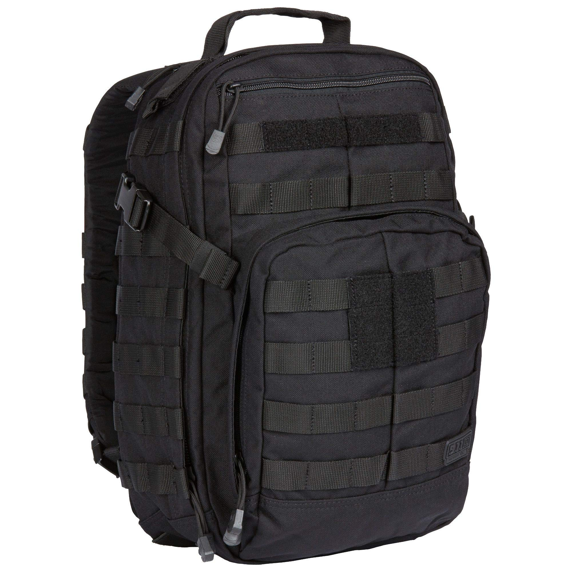 5.11 RUSH12 Tactical Military Assault Molle Backpack, Bug Out Rucksack Bag, Small, Style 56892, Black by 5.11 (Image #2)