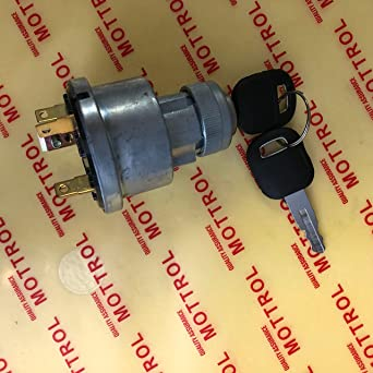 5 Terminal Wire Ignition Starter Switch 3E-0156 W//2 Keys For CATERPILLAR 3306