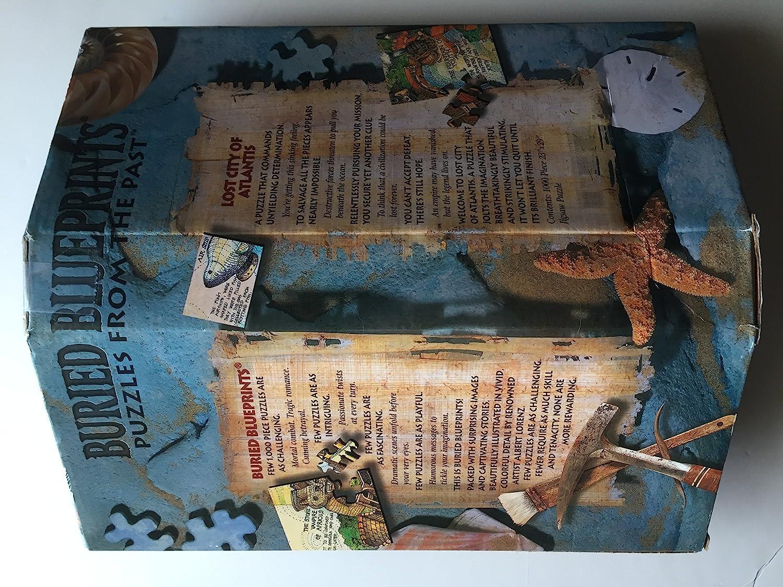 Amazon buried blueprints lost city of atlantis toys games malvernweather Choice Image