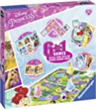 Ravensburger 21287 Disney Princess, 6-in-1 Games
