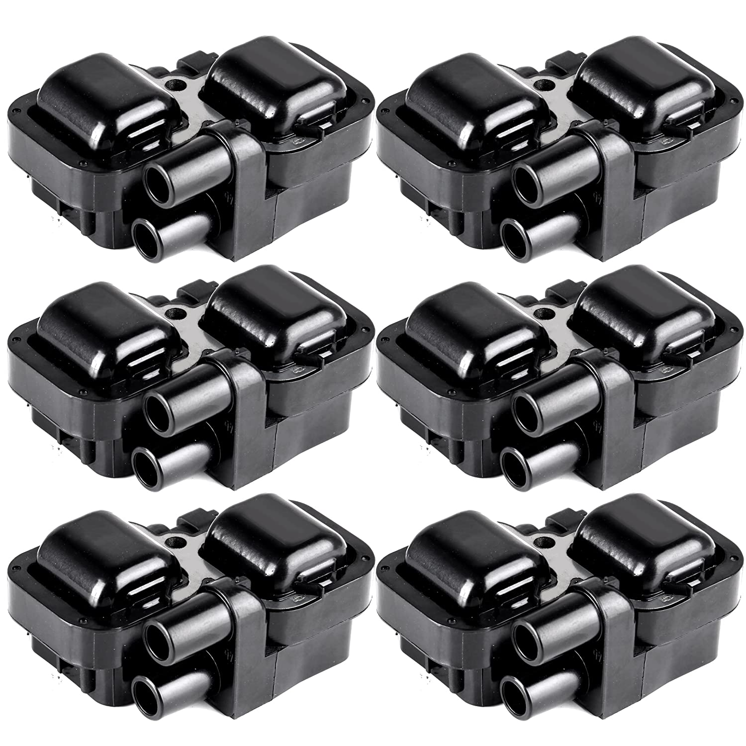 ECCPP Ignition Coils Pack of 6 Compatible with Mercedes-Benz 1997-2011 Replacement for UF-359 C1444 C1361