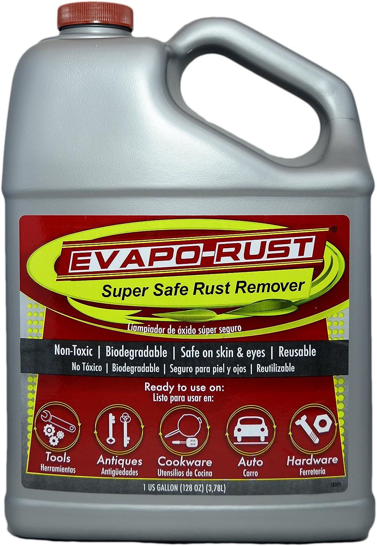 Evapo-RustThe Original Super Safe Rust Remover, Water-Based, Non-Toxic, Biodegradable, 1 Gallon