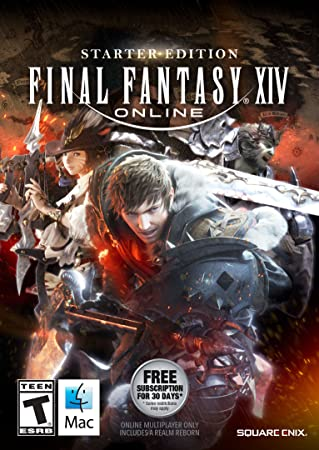 Final Fantasy XIV Online Starter Edition (MAC) [Online Game Code]