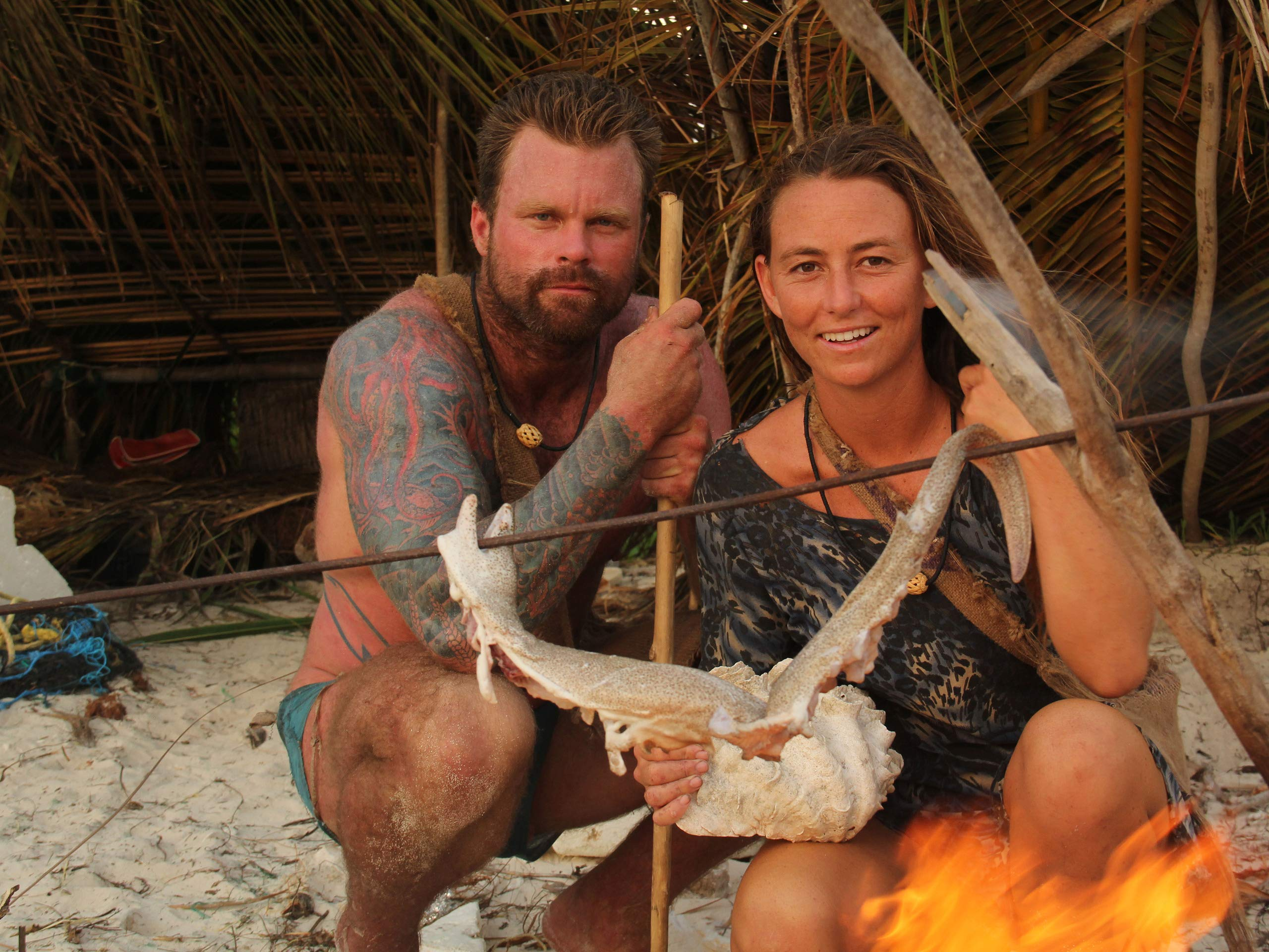 Naked Survival - Ausgezogen in die Wildnis S06E01: Geschwister-Survival in Südafrika (Twinning