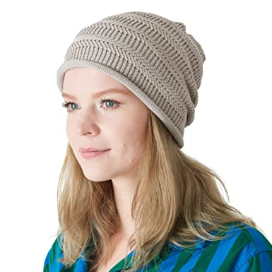 93390d68e0c8 CHARM Mens Cotton Sports Beanie - Slouchy Cooling Summer Made in Japan  Womens Slouch Hat Chemo