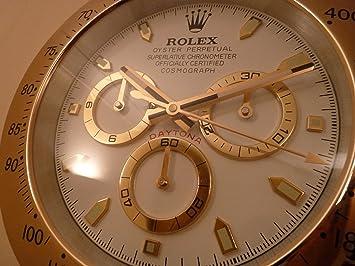 Rolex Daytona Dealers Wall Clock Quartz sweeping movement for