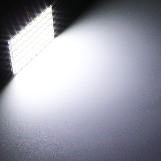 """2pack Xenon White 42mm 1.65/"""" Festoon Interior 5630 9SMD 578 211-2 212-2 Bulb"""