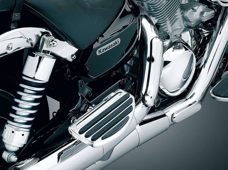 Chrome Kuryakyn 4455 Motorcycle Foot Controls 1 Pair Passenger ISO Board Conversions