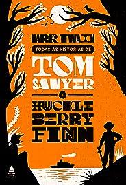 Box Todas as histórias de Tom Sawyer e Huckleberry Finn