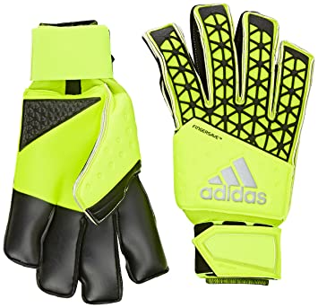 adidas Ace Zones Finger Save All Round Gloves - Solar Yellow/Semi Solar Yellow/