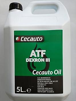 Cecauto 1006007054 Cecauto-07054 Aceite Dexron III 5L ...