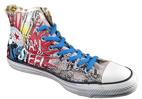 98a24ebceae3 Converse Chuck Taylor Superman Man of Steel Sneakers Men s 9  Amazon ...