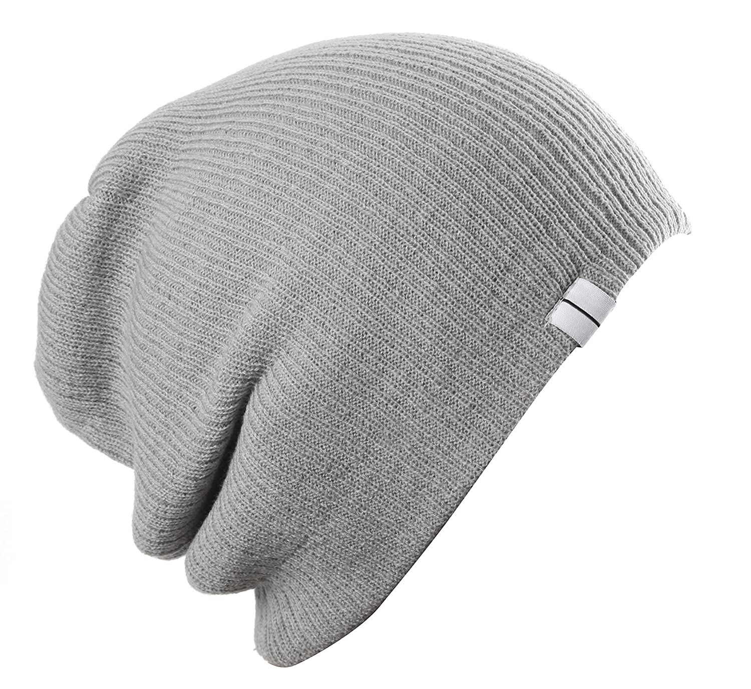 Highly Beanie Slouch Slouchy Beanie Soft Loose Beanie Hat Light Grey at  Amazon Women s Clothing store  1a2bce8994a