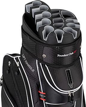 Amazon.com: Bolsa para carrito de golf Founders Club con ...