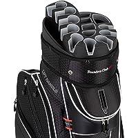 Founders Club Premium Cart Bag with 14 Way Organizer Divider Top
