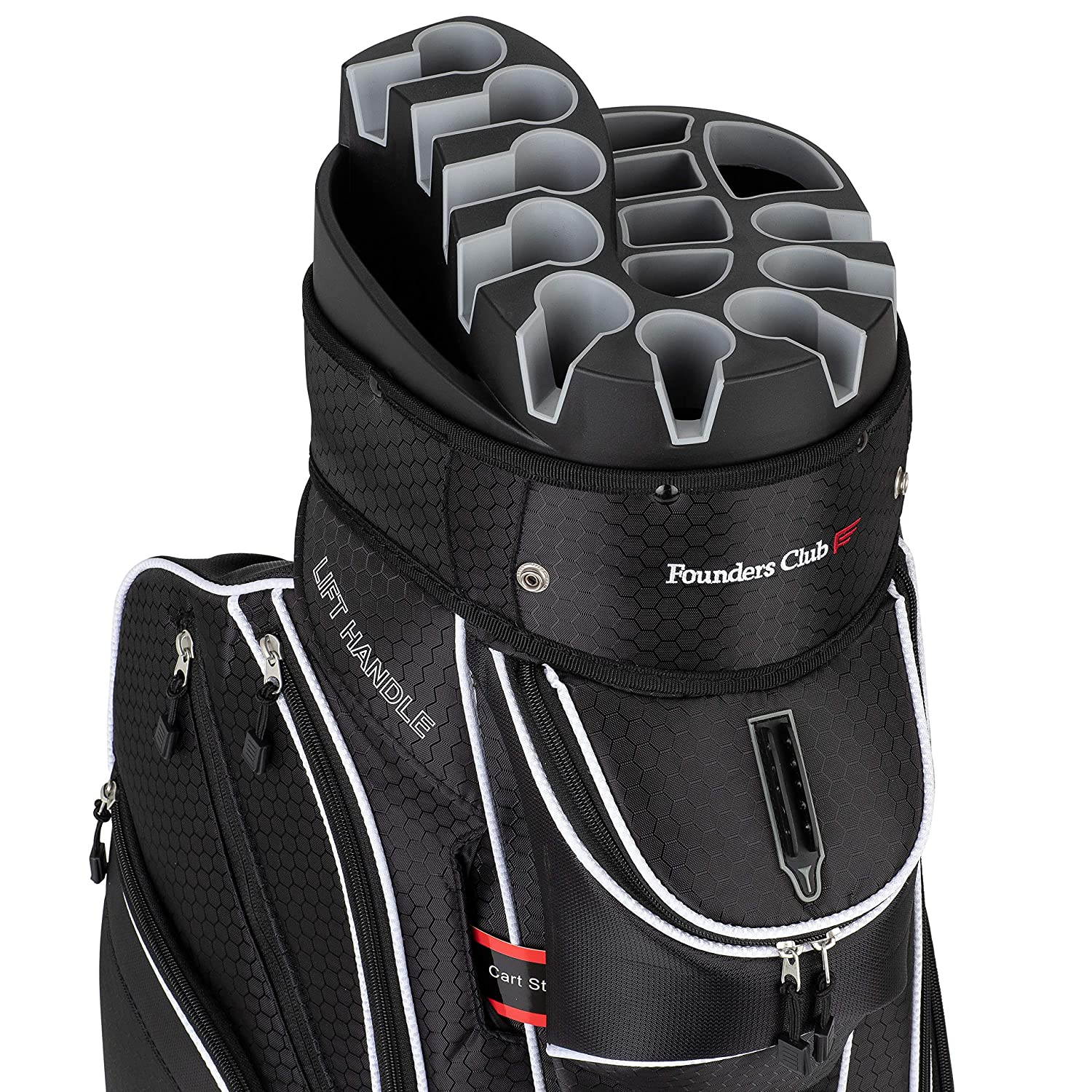 8 Top Rated Best Golf Bags For Push Carts [Review & Buying Guide] 7