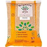Arya Farm Organic Wheat Dalia, 1kg