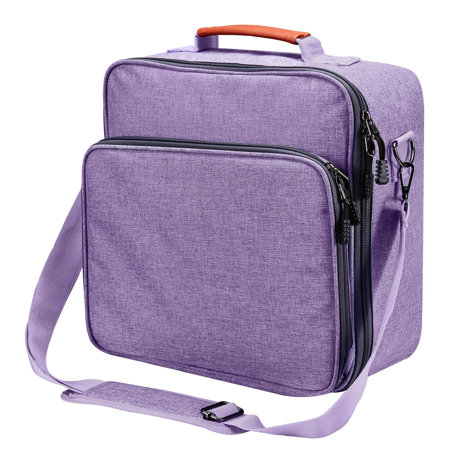 9 inches x 9 inches Carrying Bag Compatible with Cricut Easy Press Grey Tote Bag Cricut Accessories Carrying Case for Easy Press