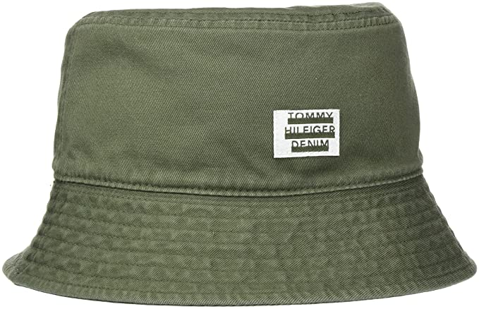 304f3ee4 Tommy Hilfiger Men's THD Label Reversible Bucket HAT Baseball Cap, Green  (Four Leaf Clover), One Size(Size:OS): Amazon.co.uk: Clothing