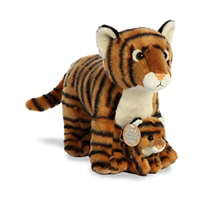 "Aurora - Destination - 11"" Mama & Baby Bengal Tiger: Toys & Games"