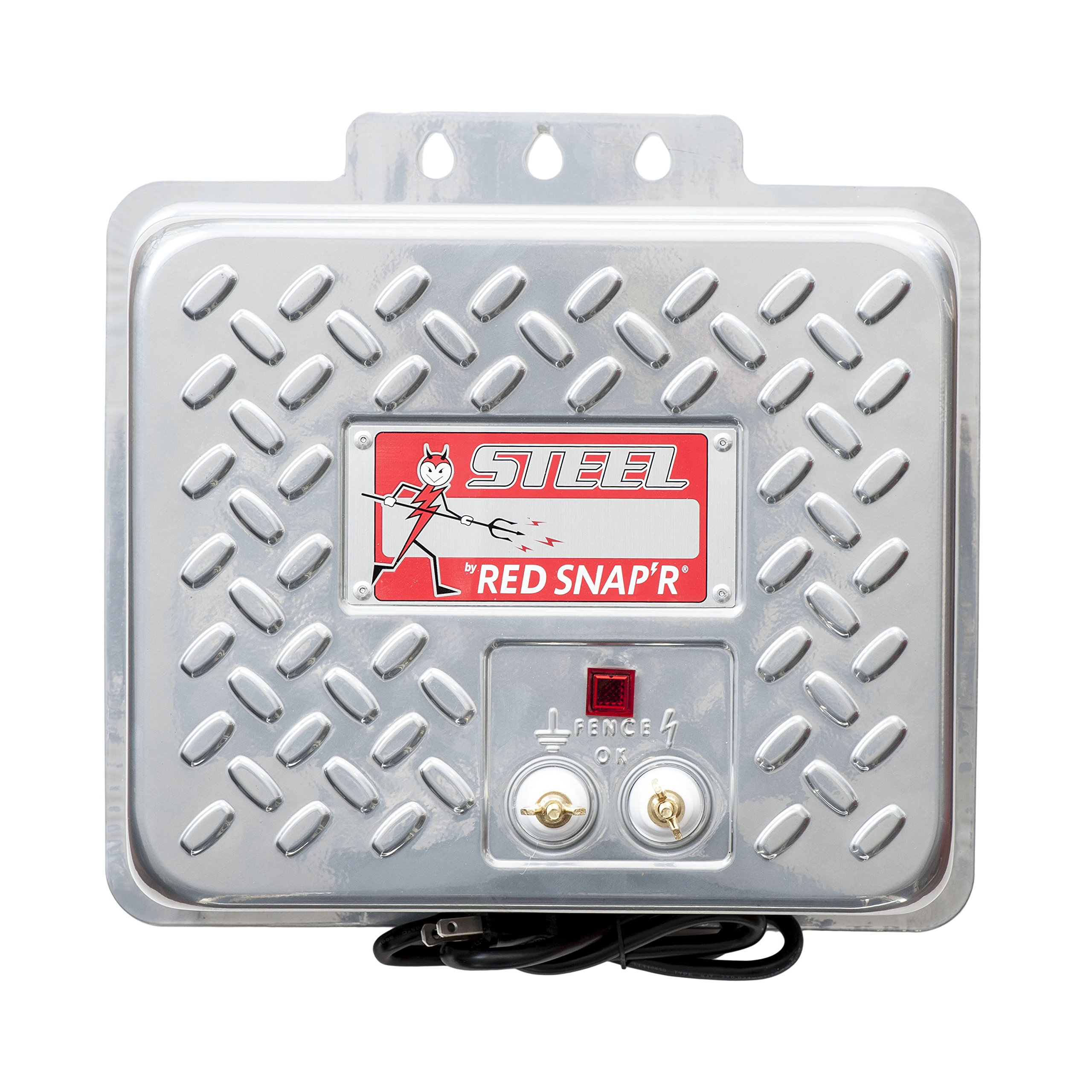 RED SNAP'R EAC60M-RSS Steel 60 Mile AC Fence Charger by RED SNAP'R