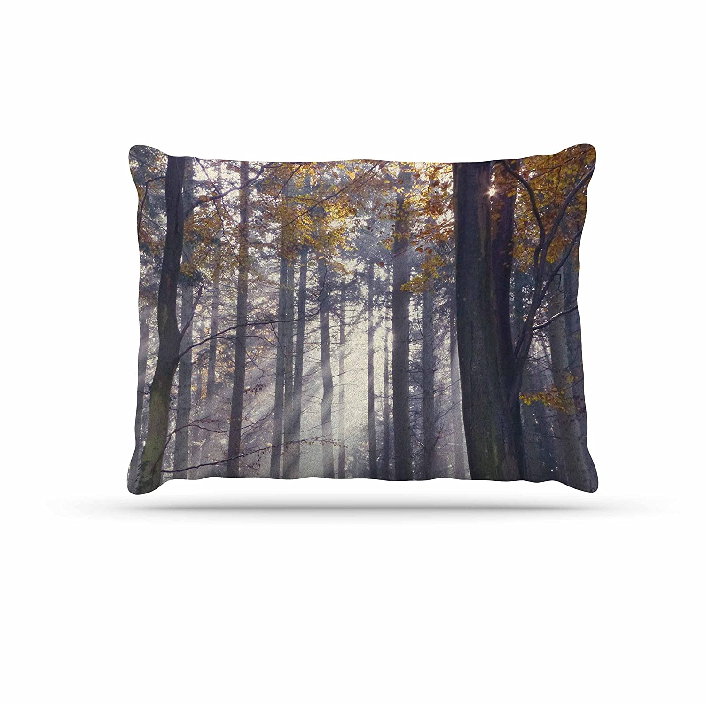 KESS InHouse Alison Coxon Winter Tree purplec Dog Bed, 50  x 40
