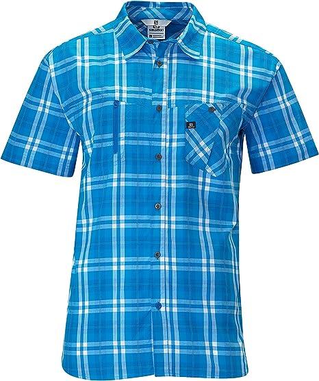 Salomon Hombres de Piedra Camisa, Hombre, Union Blue: Amazon.es: Deportes y aire libre