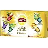 Lipton Collezioni Capsule Té in Capsule per Macchina Caffè - Pacco da 10 x 9 gr - Totale: 90 gr