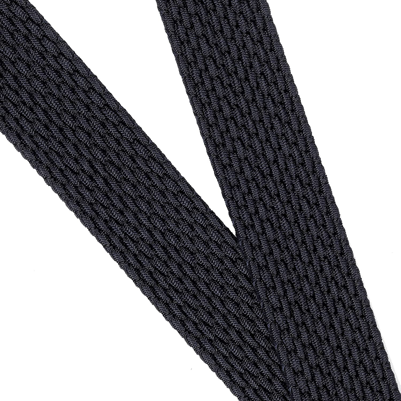 7 taglie 12 colori Cintura elastica intrecciata con fibbia ovale Fibbia nera con fibbia in pelle con uomo//donna Junior