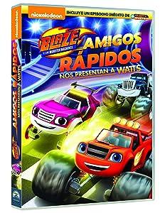 Blaze Y Los Monster Machines: Amigos Rápidos [DVD]