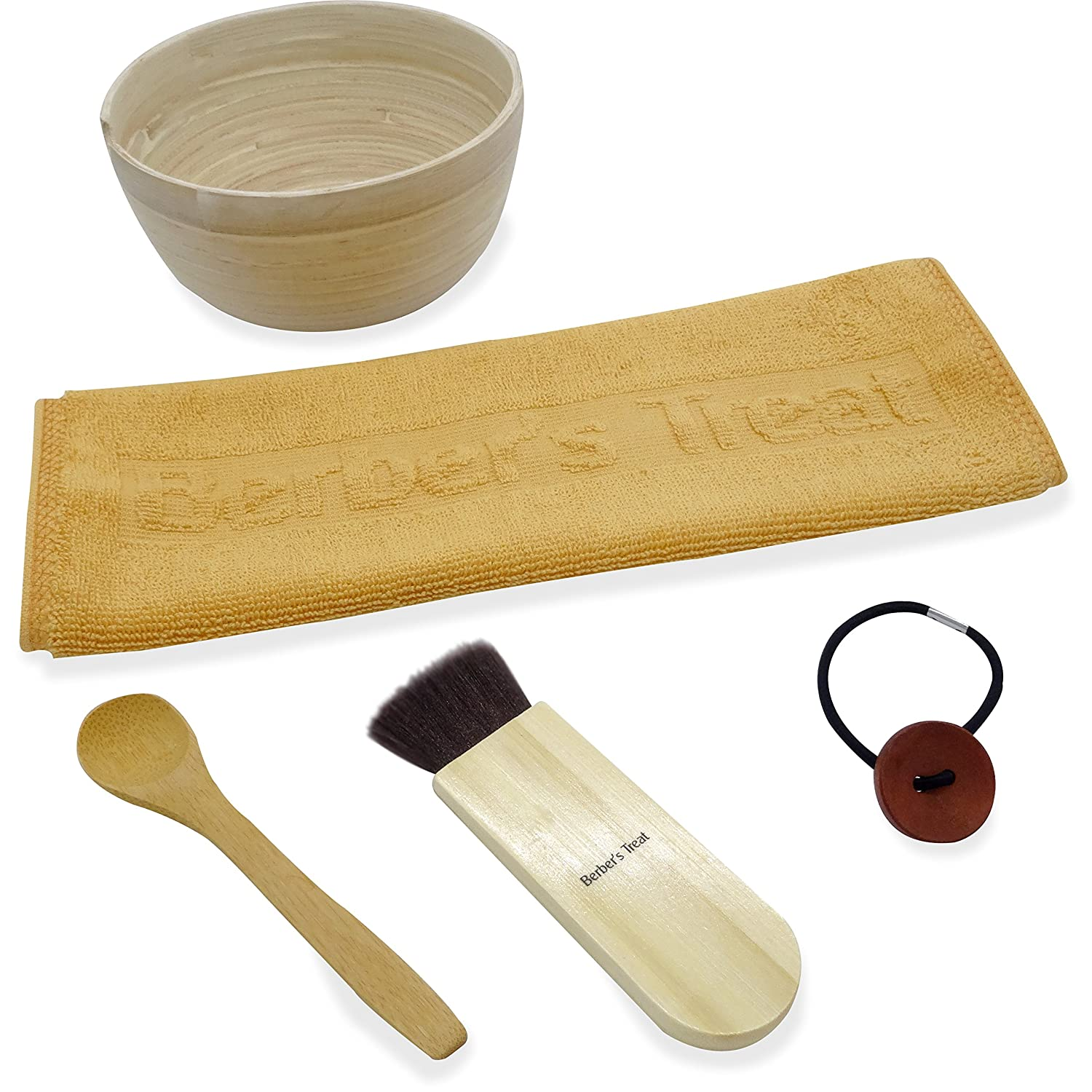 DIY Clay Face Mask Set - Bowl For Mixing Bentonite, Rhassoul or Other Clays and Healing Masks at Home Cloveree