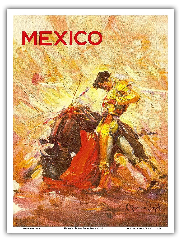 Pacifica Island Art México-Taurino Matador-Cartel del Viaje ...
