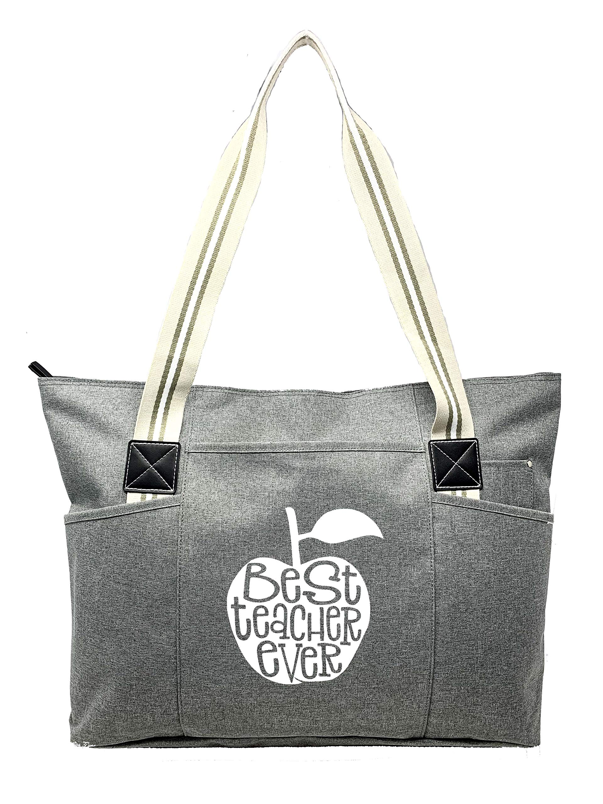 Large Teacher Tote Bags - Perfect for Work Gifts for Teachers Teacher Appreciation Day