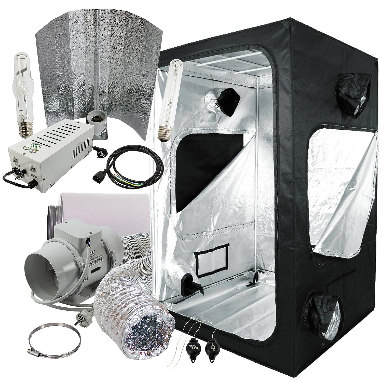 Komplettset Growbox 120x120x200cm mit 600W Hortigear plug&play Wuchs ...