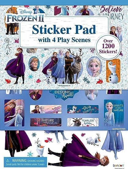 Disney Frozen Disney Frozen Stickers Crystal Glitter Sticker Sheet